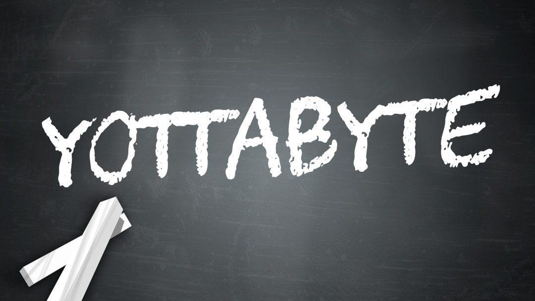 Was ist eigentlich ein Yottabyte?