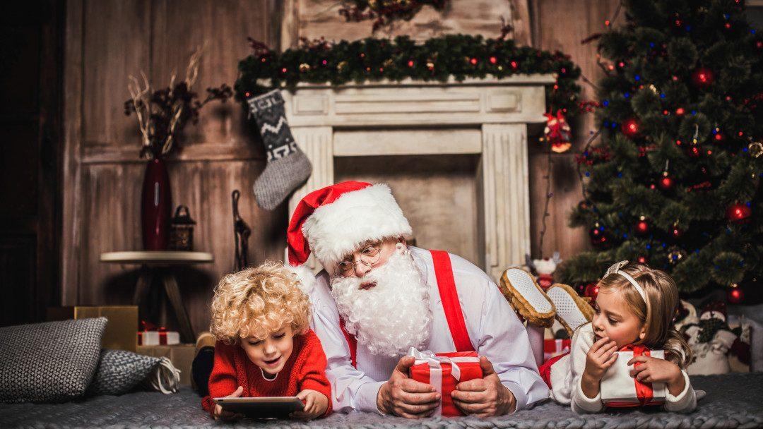 So wird über den Weihnachtsmann gesprochen