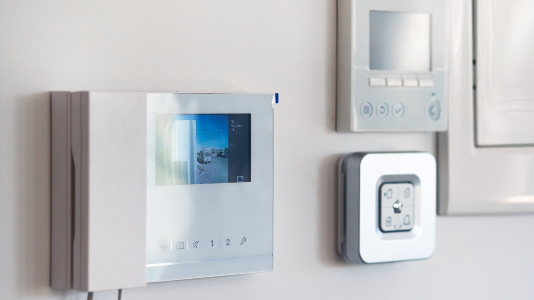 Smarte Videotürklingel im Smart Home
