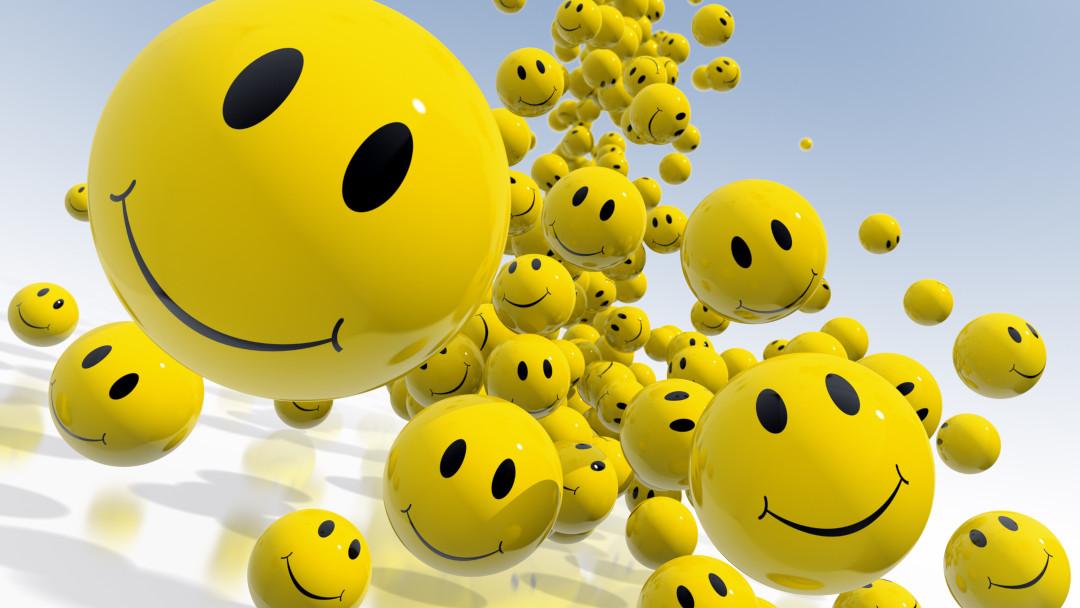 Smileys versüßen den Alltag
