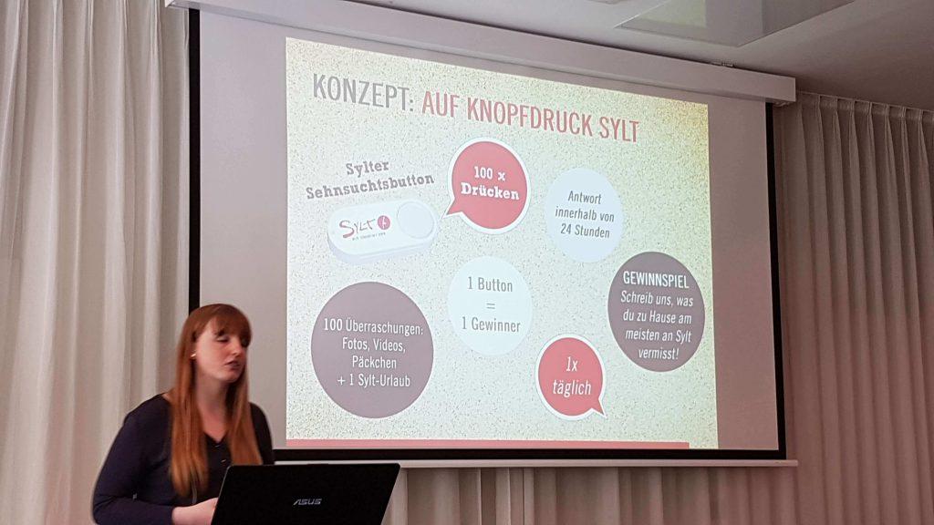 D2M Summit - Sylt Marketing Influencer Kampagne Sehnsuchts-Button