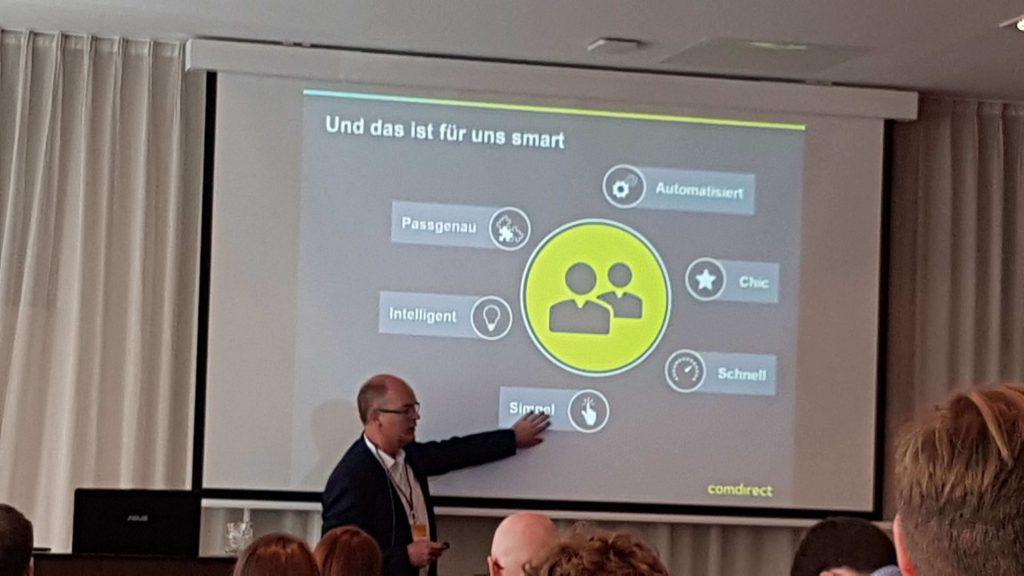 D2M Summit 2017 - Praxisbeispiel Comdirect Bank zum Einsatz von Automatismen im Kundenservice