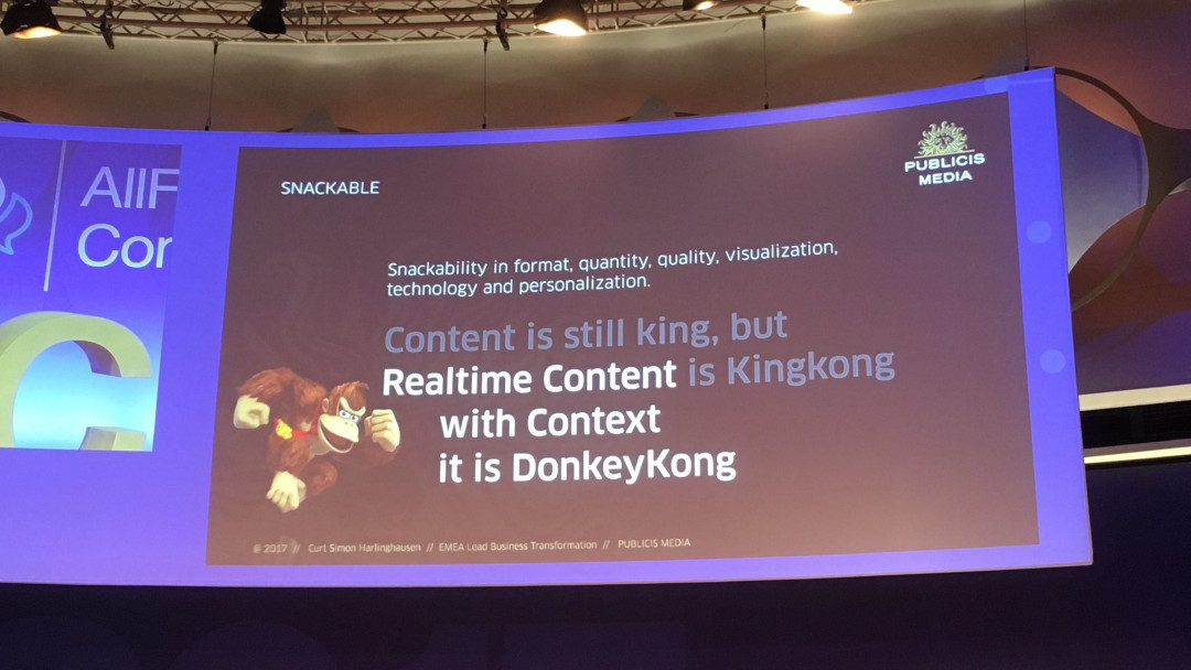 Allfacebook Marketing Conference 2017: Relevanz als Erfolgsfaktor