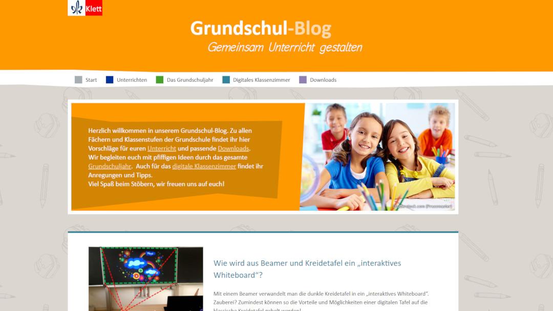 Klett Grundschulblog