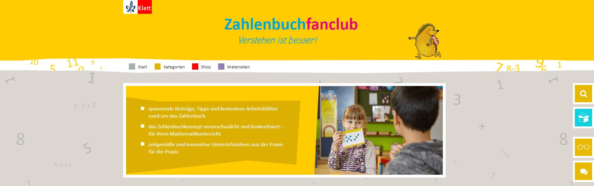 Zahlenbuchfanclub - Klett Grundschulverlag