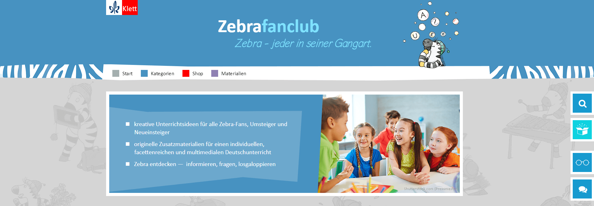 Zebrafanclub - Klett Grundschulverlag