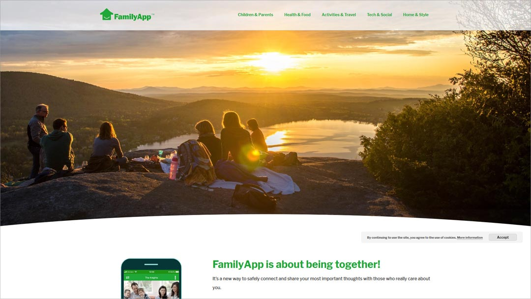 FamilyApp – Smart Relevance Optimization für amerikanisches Themenportal zur Familien-App