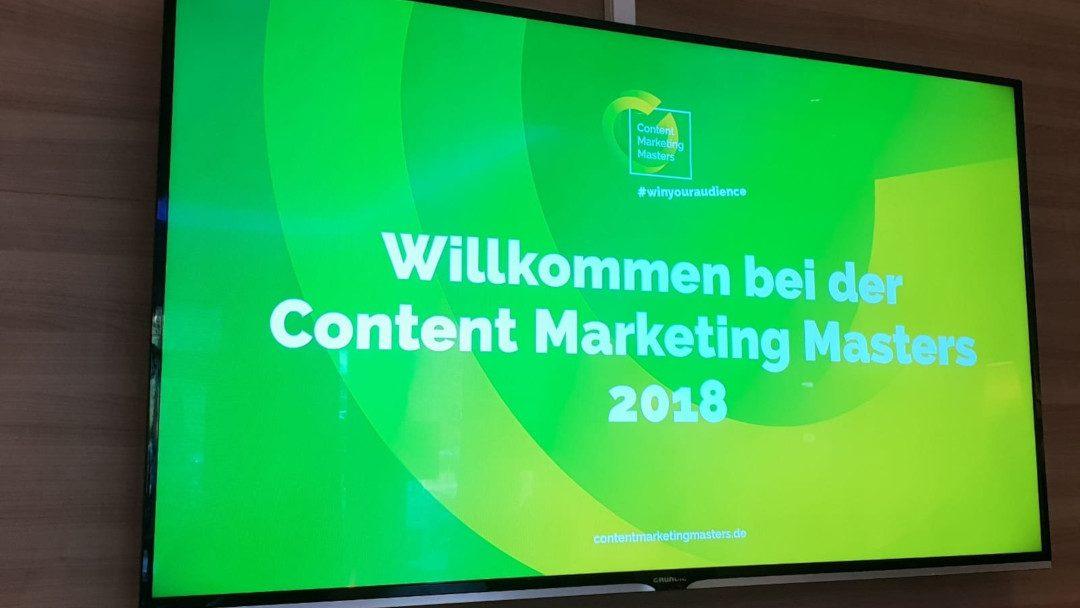 Rückblick auf die Content Marketing Masters 2018