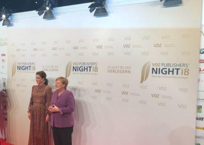 Bundeskanzlerin Merkel zusammen mit Königin Rania