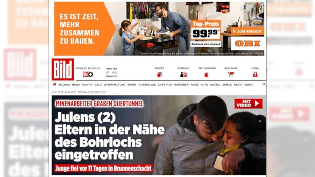Schockierende Bad Ads bei OBI und Spiegel Online