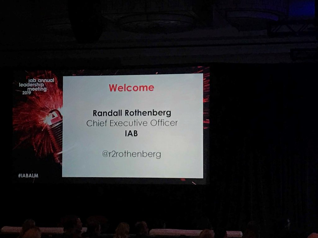 IAB CEO Randall Rothenberg