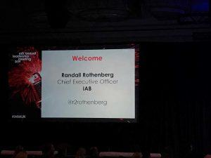 IAB CEO Randall Rothenberg